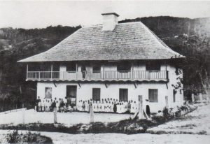 La Antigua Escuela de la Colonia Tovar, estado Aragua. Patrimonio arquitectónico de Venezuela.