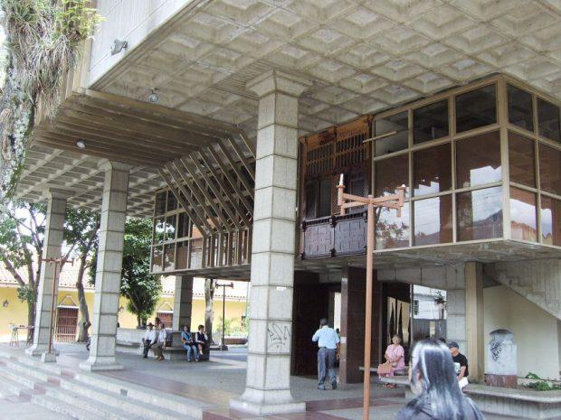 Biblioteca Bolivariana de Mérida, estado Mérida. Fundada en 1983. Patrimonio documental de Venezuela.