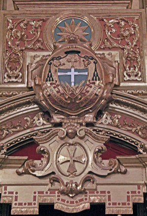 Detalle del retablo de la Catedral de Valencia, Carabobo. Foto Orlando Nano Baquero, agosto 2018.