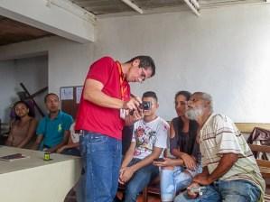 Barrio El Calvario, taller de reconocimiento patrimonial II para registro en fotogrametría. El Hatillo, Caracas.