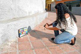 La comunidad de El Calvario registra su patrimonio cultural en fotogrametría. Proyecto Arqueología simbólica de El Calvario. Patrimonio cultural de Venezuela.