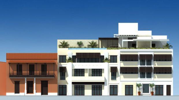 El proyecto de La Guayra Hotel Boutique es una de las propuestas desarrolladas por arquitectos venezolanos para la capital de Vargas. Foto cortesía Rubén Contreras.