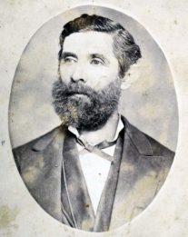 Foción Febres Cordero, padre de don Tulio Febres Cordero, mayo 20 de 1885. Colección Biblioteca Febres Cordero, Mérida-Venezuela. Dig. Samuel Hurtado Camargo.