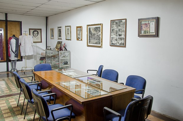 La función académica del Museo Histórico de la Enfermería Venezolana, Escuela de Enfermería UCV. Foto Luis Chacín, 2018.