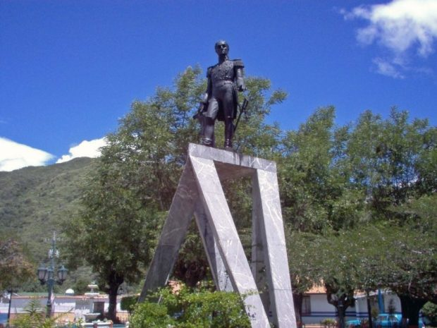 Parque Bolívar de Lobatera, 2006. Foto Samir Sánchez, 2006.