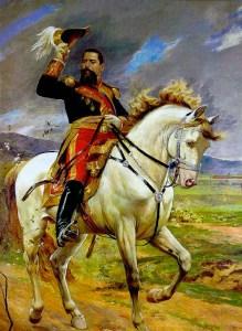 Pintura del General Joaquín Crespo, óleo sobre tela de Arturo Michelena, 346 cm x 253 cm