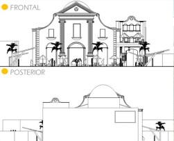 Proyecto no oficial de remodelación del templo San Felipe Neri, Maracaibo, Zulia - Venezuela. En el blog Maracaibo de Noche, abril 2016. Monumento Nacional, patrimonio cultural de Venezuela en peligro.