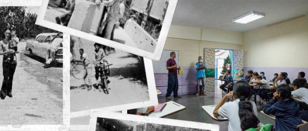 Taller Exploradores de la imagen y la memoria en el barrio El Calvario, municipio El Hatillo. Foto Luis Chacín, noviembre 12 de 2018.