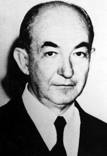 Tras la muerte de don Tulio, su hijo Rafael Febres Cordero Carnevali custodió y enriqueció la biblioteca y archivo de los Febres Cordero. Foto Biblioteca Febres Cordero.