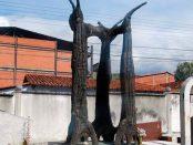 Monumento a Alberto Carnevali, en el Cementerio El Espejo, Mérida. Foto Samuel Hurtado Camargo, noviembre 2 de 2018.