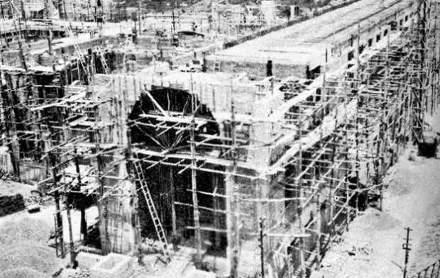 Edificio Nacional de San Cristóbal, estado Táchira. Estado de las obras del Edificio Nacional de la ciudad de San Cristóbal, para diciembre de 1944