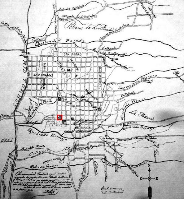 Edificio Nacional de la ciudad de San Cristóbal, estado Táchira. Plano de la ciudad de San Cristóbal, levantado por el munícipe Carlos Trinidad Pirela Roo, en 1903.