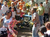 2006. Baile del tamunangue en el barrio La Quebradita de Araure, Portuguesa. Foto Wilfredo Bolívar. Tamunangue o sones de negro entre Lara y Portuguesa. Patrimonio cultural de Venezuela.