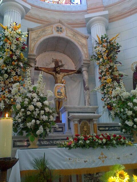Santo Cristo de La Grita. Foto Samir Sánchez, 2013.