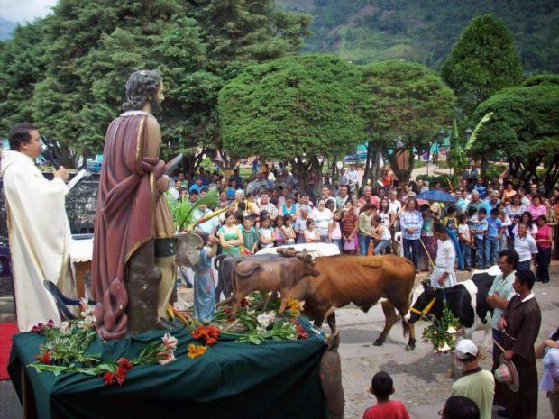 Fiesta de San Isidro en Táchira. Foto en el blog Riobobense, del historiador José Antonio Pulido, 2015.