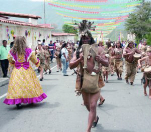 Fiesta en honor a- San Isidro, municipio Sucre, estado Mérida. Foto IPC, 2008.