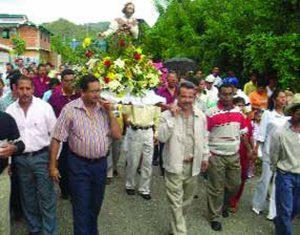 Fiesta de San Isidro en el municipio Lima Blanco, Cojedes. Foto IPC, 2006.