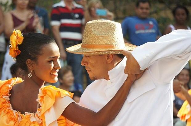 Representación del baile del joropo. Foto Archivo Luigino Bracci_Alba Ciudad.