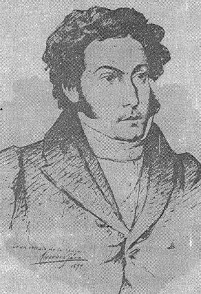 Retrato de Gabriel Picón González, dibujo de Antonio Herrera Toro, 1899. Dig. Samuel Hurtado Camargo