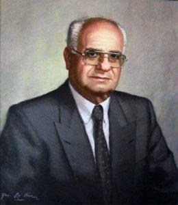 Germán Briceño Ferrigni, óleo sobre tela de Francisco Lacruz, 2004. Col. Casa de los Antiguos Gobernadores. Foto Hugo A. Angulo