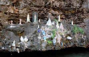 Cueva de la Santita, en Chichiriviche, Falcón. Foto IPC