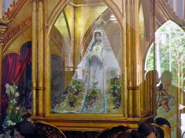 Virgen del Valle, patrona de Nueva Esparta. Foto Maria E. Villegas_Wikimedia Commons, 2010.