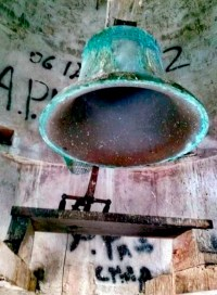 Las campanas del reloj de Lobatera ya tañen con puntualidad. Foto Elvis Zambrano _ Bernardo Zinguer.