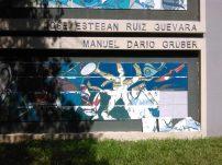 El Mural de la Poesía ya en 2009 acusaba deterioro. Foto Marinela Araque Rivero.