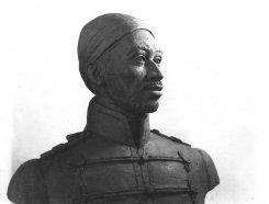 Busto del Negro Primero. Foto: archivo del José I. Vielma Vielma.