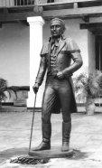 Manuel Palacios Fajardo. Estaba en una plaza en Mijagual y se la robaron. Digitalización Marinela Araque.