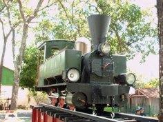 Piezas que cuentan la historia ferroviaria en el país.
