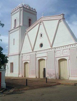Iglesia San Rafael Árcangel de Baragua. Foto David Castellanos.