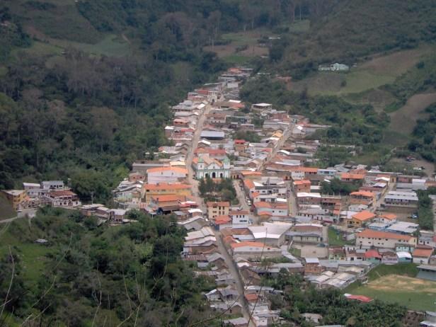 El centro poblado La Quebrada, su perfil arquitectónico. Foto IPC.