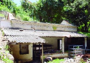 El IPC destaca el ruinoso estado de la antigua casona. Foto IPC.