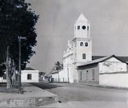 Catedral de Barinas con su antigua torre. Foto archivo Junior Palacios.