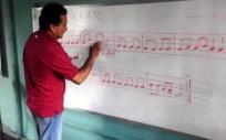 Labor formativa en el Centro Cultural Tito Lino Molina, una labor comunitaria de más de 31 años en El Vigía, estado Mérida. Venezuela.