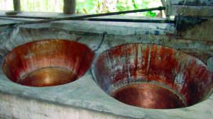 Trapiche de El Ñampo, una estructura que preserva su estilo colonial. Patrimonio cultural del estado Aragua, Venezuela.