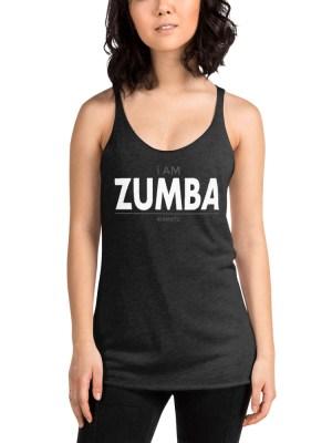 i AM Zumba Women's Racerback Tank