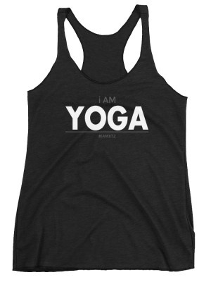 i AM Yoga Women's Racerback Tank