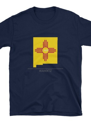 i AM New Mexico Short-Sleeve Unisex T-Shirt