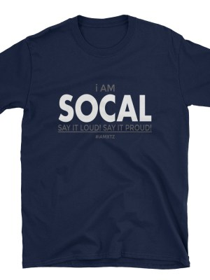 i AM SOCAL Short-Sleeve Unisex T-Shirt
