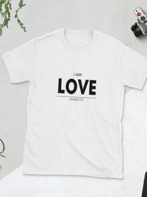 i AM LOVE Short-Sleeve Unisex T-Shirt