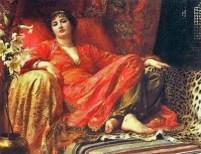 4 Frank Dicksee (English Pre-Raphaelite Painter, 1853-1928)