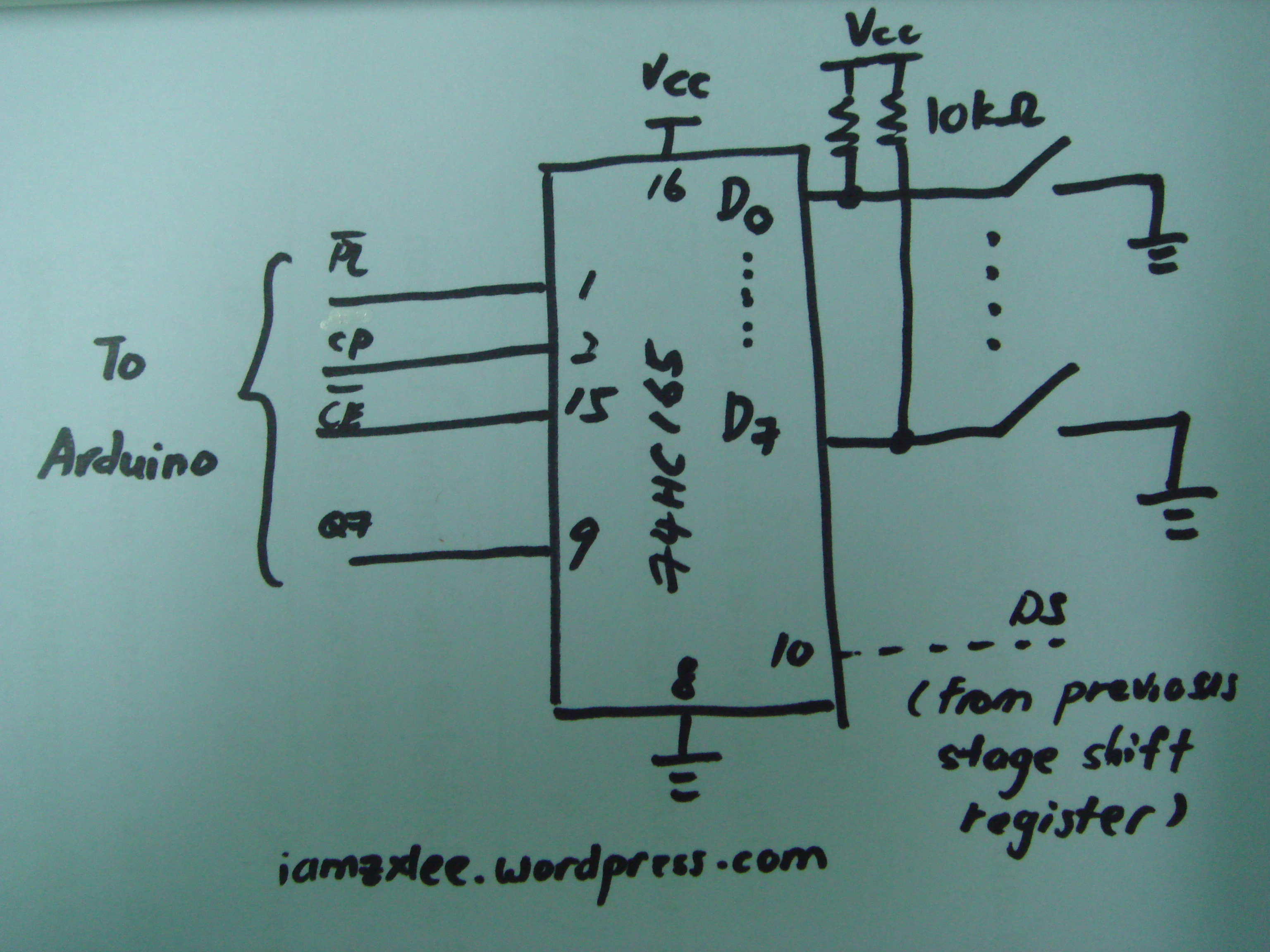 parallel in out shift register timing diagram parts of a pocket knife 74hc165 8 bit serial zx lee