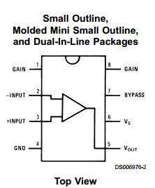 LM386 Low Voltage Audio Power Amplifier