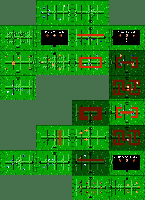 Zelda Level 9 Map : zelda, level, Legend, Zelda, Ian-Albert.com