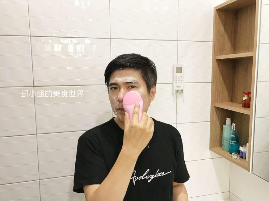 教你如何深層清潔毛孔-PISEN洗臉神器開箱-23