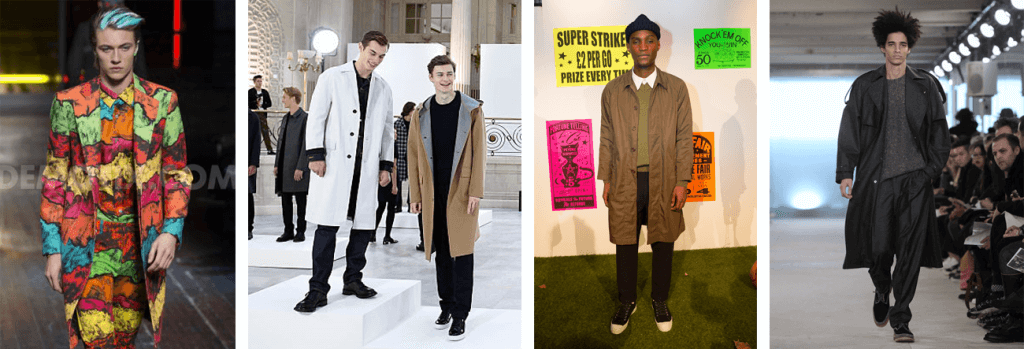 Trench Coats at LCM AW16