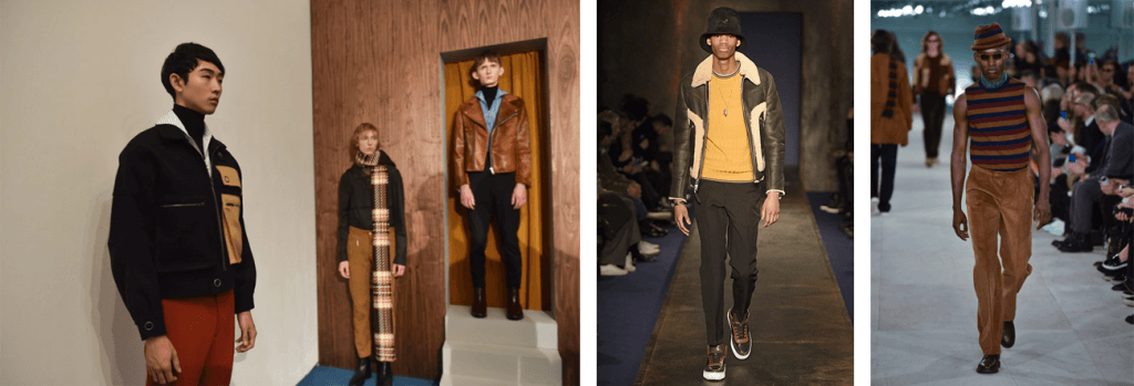 Yellow Ochre and Mustard at LCM AW16