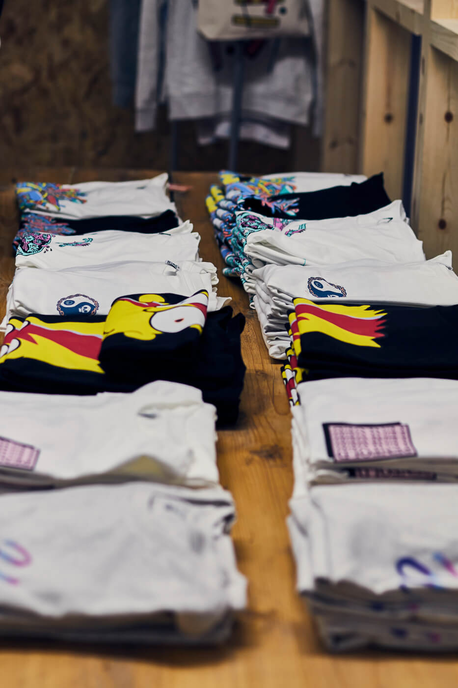 Kickstarter T-shirts